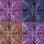 Four Times Four IIi Art Print
