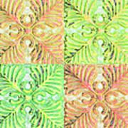 Four Times Four V Art Print