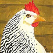 Fowl Mood Art Print