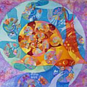 Fractal Snail Art Print
