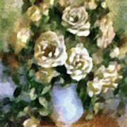 Fragrant Roses Art Print
