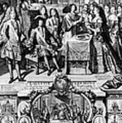 France: Baptism, 1704 Art Print