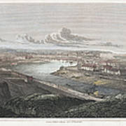 France: Dieppe, 1822 Art Print