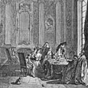 France: Gambling, C1750 Art Print