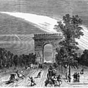 France: Meteor, 1868 Art Print