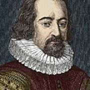 Francis Bacon, English Philosopher Art Print