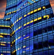 Frank Gehrys Iac Building Art Print
