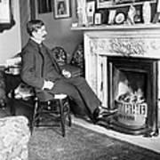 Frank Harris (1854-1931). American Writer Born In Galway, Ireland Art Print