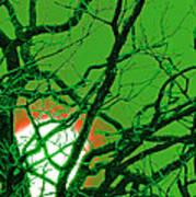 Frankenstein Moon Print by First Star Art
