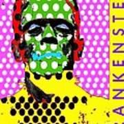 Frankenstein Art Print by Ricky Sencion