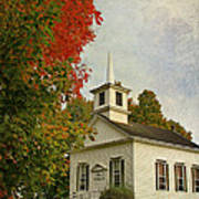 Franklin Church Art Print