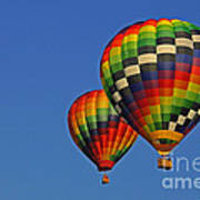Fraternal Twin Balloons Art Print