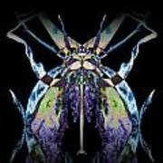 Freaky Bug Plant Art Print by David Kleinsasser