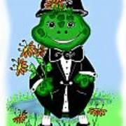 Freddie Frog Art Print