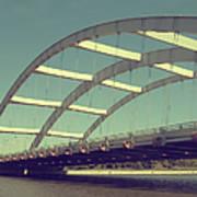 Freddie Sue Bridge Art Print