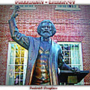 Frederick Douglass Art Print by Brian Wallace