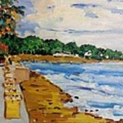 Frederiksted By The Pier Art Print