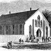 Freedmen School, 1867 Art Print by Granger