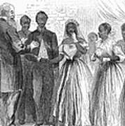 Freedmen: Wedding, 1866 Art Print by Granger
