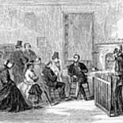 Freedmens Bureau, 1867 Art Print