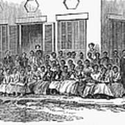 Freedmens School, 1868 Art Print by Granger