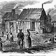 Freedmens Village, 1866 Art Print by Granger