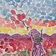 Freedom Girl     Art Print