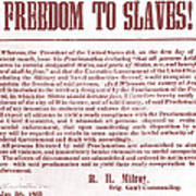 Freedom To Slaves Art Print by Photo Researchers, Inc.