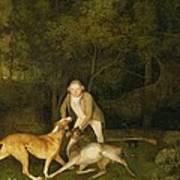 Freeman - The Earl Of Clarendon's Gamekeeper Art Print