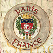 French Coat Of Arms Art Print