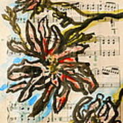 French Magnolia Minuet Art Print