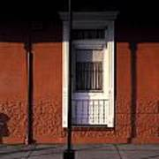 French Quarter Door And Shadows New Orleans Art Print