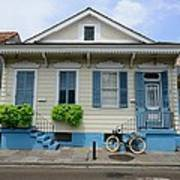 French Quarter Home Art Print