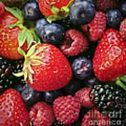 Fresh Berries Art Print