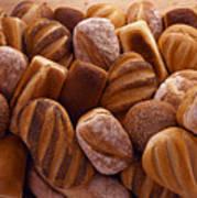 Fresh Bread Loaves Art Print