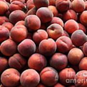 Fresh Peaches - 5d17816 Art Print