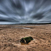 Freshwater West Blur Art Print