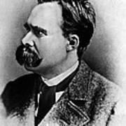 Friedrich Wilhelm Nietzsche, German Print by Omikron