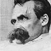 Friedrich Wilhelm Nietzsche, German Art Print by Photo Researchers