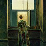 Friedrich Woman 1822 Art Print