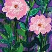 Friendship In Flowers Art Print