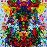 Frogman 2 Art Print