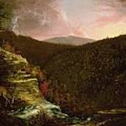 From The Top Of Kaaterskill Falls Art Print by Thomas Cole