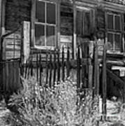 Front Porch Bodie Ghost Town California Art Print