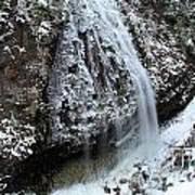 Frozen Narada Falls Art Print