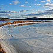 Frozen Shoreline Art Print