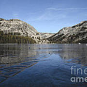 Frozen Tenaya Lake Art Print