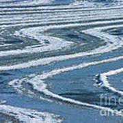 Frozen Waves Art Print
