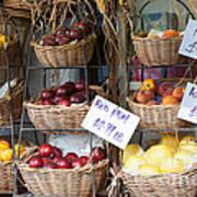Fruit For Sale Art Print