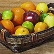 fruits with vitamin C Art Print